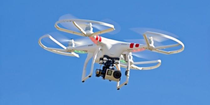Drohnen überwachen Baustellenfortschritt