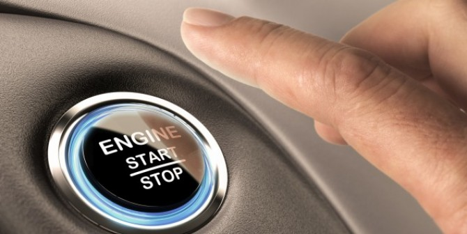 Das Auto und der Fingerabdruck: James Bond lässt grüßen