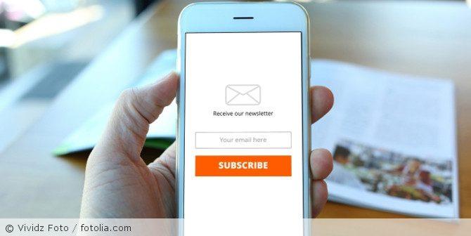 Newsletterverteiler rechtssicher aufbauen