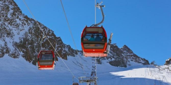 Ski fahren – Überwachung in den Bergen?