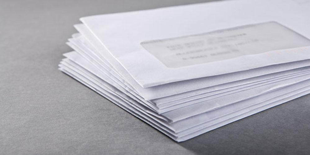 Adressieren brief persönlich vertraulich Wer darf