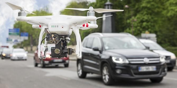 Unbemannte Fluggeräte bedrohen den Luftraum – und auch die Privatsphäre?!