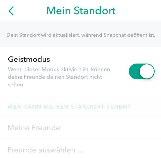 Expliziter Snapchat