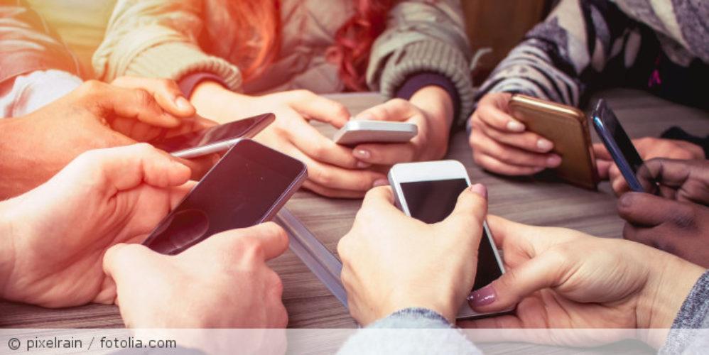 Texting_Gruppte_Smartphone