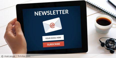 Newsletteranmeldung_fotolia_138047805