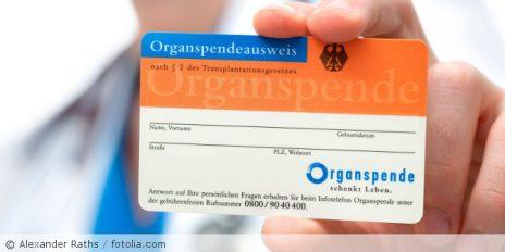 Übermittlung von Organspenderdaten