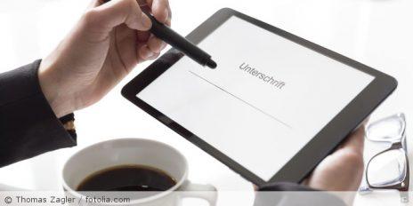 Wirksamkeit datenschutzrechtlicher Einwilligungen bei Tablet-Unterschriften
