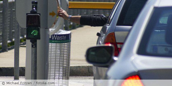 Videoüberwachung und automatischer Kennzeichenscan in Parkhäusern