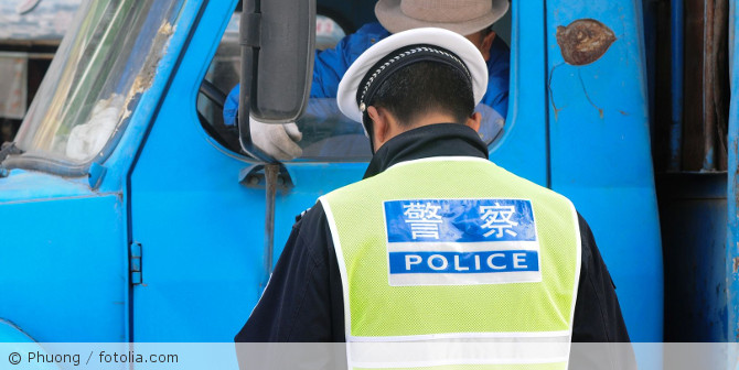 Polizeikontrolle_China_fotolia_182947906