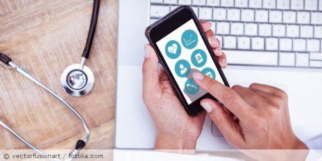 Gesundheitsdaten auf dem Smartphone verfügbar