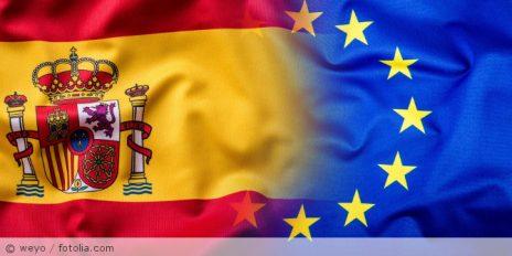 Spanien_EU_Flagge_101827244