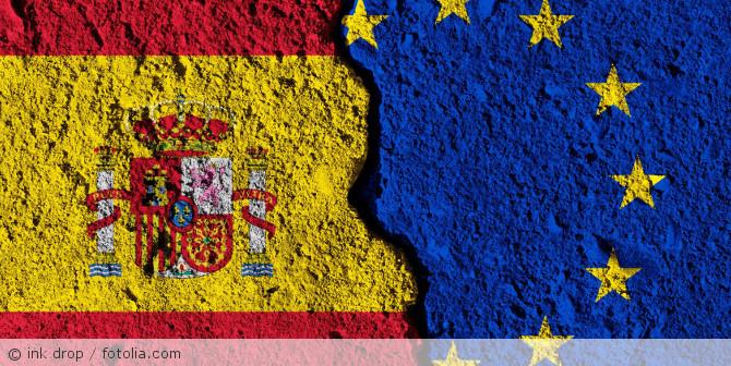 Spanien_EU_Flagge_179850030