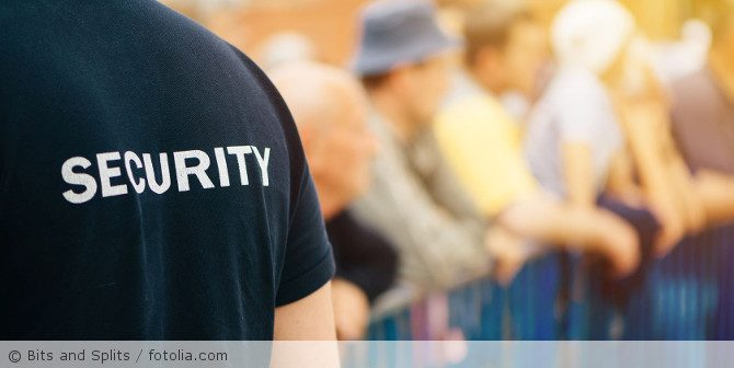 Bodycams bei privaten Sicherheitsunternehmen