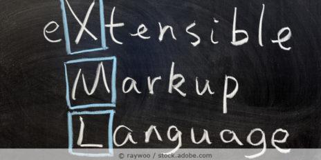 XML_extensible_markup_language_AdobeStock_39960376