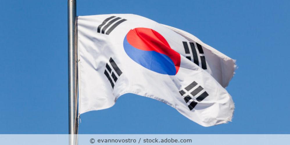 Suedkorea_Korea_Flagge_AdobeStock_219745677
