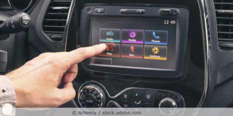 Multimediasystem im Auto