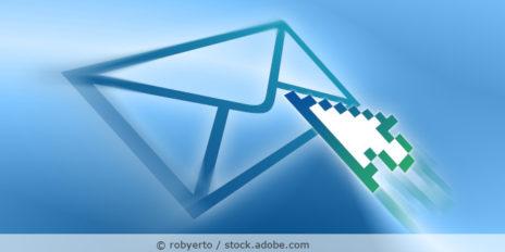 EMail-senden Symbol